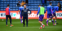 Bolton Wanderers' first team assistant manager Steve Parkin, centre, during the pre-match warm-up<br /> <br /> Photographer Chris Vaughan/CameraSport<br /> <br /> The EFL Sky Bet Championship - Sheffield Wednesday v Bolton Wanderers - Saturday 10th March 2018 - Hillsborough - Sheffield<br /> <br /> World Copyright &copy; 2018 CameraSport. All rights reserved. 43 Linden Ave. Countesthorpe. Leicester. England. LE8 5PG - Tel: +44 (0) 116 277 4147 - admin@camerasport.com - www.camerasport.com