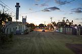 MEXICO, Baja, Magdalena Bay, Pacific Ocean, the city of Magdalena Bay