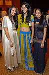 Paige Gill, Priya Vij and Sarah Choksi at the UNICEF Mystique of India gala at the InterContinental Hotel Saturday Sept. 27,2008.(Dave Rossman/For the Chronicle)