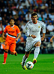 Gareth Balevies with Daniel Parejo during the Spanish league football match Real Madrid CF vs Valencia CF at the Santiago Bernabeu stadium in Madrid on May 4, 2014. PHOTOCALL3000/