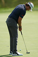 Eddie Pepperell (ENG) on the 4th green during the 1st round at the PGA Championship 2019, Beth Page Black, New York, USA. 17/05/2019.<br /> Picture Fran Caffrey / Golffile.ie<br /> <br /> All photo usage must carry mandatory copyright credit (&copy; Golffile | Fran Caffrey)
