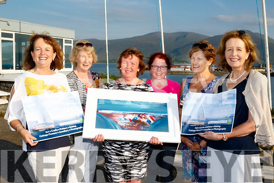 Art Sail<br /> ----------<br /> Next Sunday, June 25, at Tralee Sailing Club, Fenit between 12-6pm, the Spa/Fenit Hospice Committee are holding an Arts and Crafts fair in aid of Palliative Care with some fantastic prizes to be won also, pictured at the Clubhouse last Monday evening were L-R Mired Moriarty, Mary Kelly, Noreen O'Leary, Christine Gallagher ( treasurer) Margaret O'Shea with Maria McSwiney (chairperson).