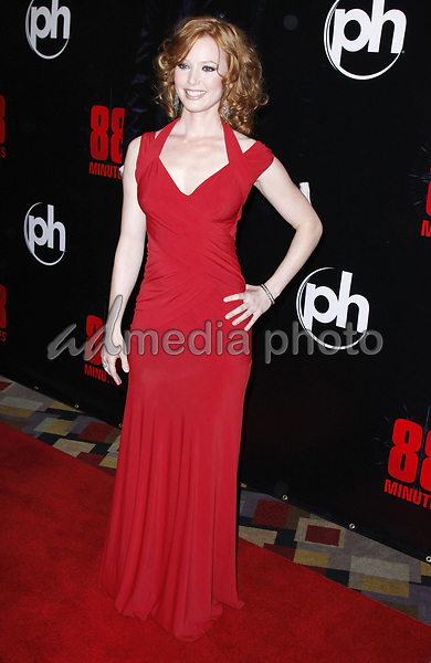 16 April 2008 - Las Vegas, Nevada - Alicia Witt. '88 Minutes' World Premiere held at Planet Hollywood Hotel and Casino. Photo Credit: MJT/AdMedia