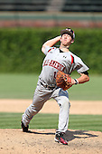 Kyle Smith during the 2010 Under Armour All-American Game powered by Baseball Factory at Wrigley Field in Chicago, Illinois on August 14, 2010.  (Copyright Mike Janes Photography)