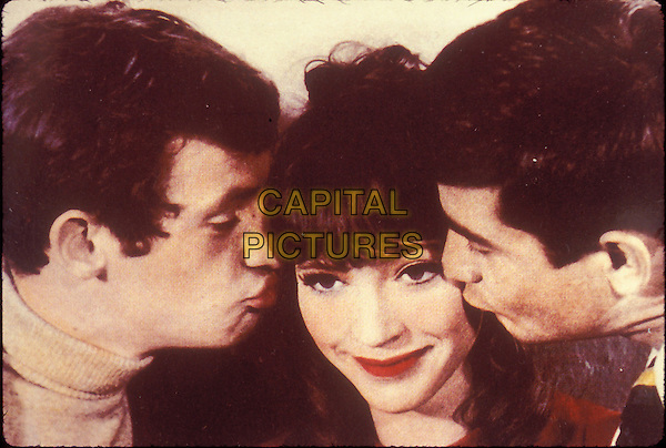 JEAN PAUL BELMONDO, ANNA KARINA & JEAN CLAUDE BRIALY.in A Woman is A Woman (Une Femme Est Une Femme).*Editorial Use Only*.www.capitalpictures.com.sales@capitalpictures.com.Supplied by Capital Pictures.