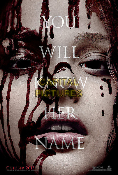 ONE SHEET POSTER ART<br /> in Carrie (2013) <br /> *Filmstill - Editorial Use Only*<br /> CAP/FB<br /> Supplied by Capital Pictures