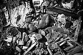 Wroclaw 18.08.2009 Poland<br /> The worst and the most dangerous district in Wroclaw ( Poland ), called by people &quot;The Bermuda Triangle&quot;.<br /> Photo by Adam Lach / Napo Images<br /> <br /> Wszechobecny smietnik w podworkach na trojkacie bermudzkim.<br /> Najbardziej nabezpieczna dzielnica we Wroclawiu zwana przez ludzi Trojkatem Bermudzkim.<br /> Fot Adam Lach / Napo Images