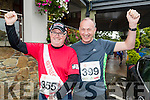 Paul Stephenson and Martin Boyd (both from Tralee), who took part in the Rose of Tralee 10k at Tralee Bay Wetlands on Sunday morning.