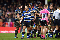 Max Green of Bath Rugby. Anglo-Welsh Cup Final, between Bath Rugby and Exeter Chiefs on March 30, 2018 at Kingsholm Stadium in Gloucester, England. Photo by: Patrick Khachfe / Onside Images