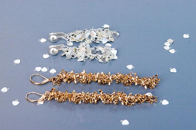 Jewelry, Viveka Berg Shop, Paris, France, Europe