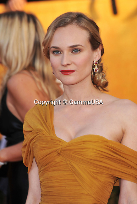 Diane Kruger _88   -<br /> 16 th Annual Screen Actors Guild Awards at the Shrine Auditorium in Los Angeles.