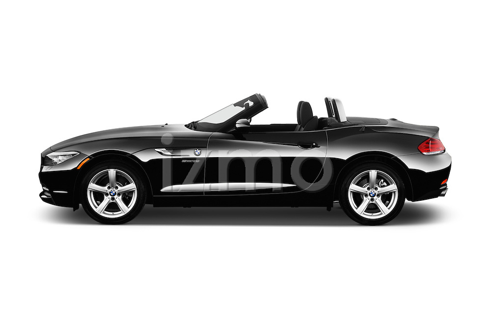 Car Driver side profile view of a 2016 BMW Z4 sDrive28i 2 Door Convertible Side View