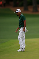 Satoshi Kodaira (JPN) on the 2nd green during the final round at the The Masters , Augusta National, Augusta, Georgia, USA. 14/04/2019.<br /> Picture Fran Caffrey / Golffile.ie<br /> <br /> All photo usage must carry mandatory copyright credit (© Golffile | Fran Caffrey)