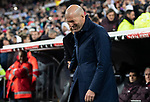 Real Madrid CF's Zinedine Zidane before La Liga match. Mar 01, 2020. (ALTERPHOTOS/Manu R.B.)