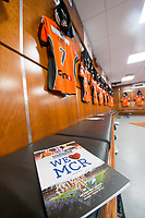 Picture by Allan McKenzie/SWpix.com - 07/10/2017 - Rugby League - Betfred Super League Grand Final - Castleford Tigers v Leeds Rhinos - Old Trafford, Manchester, England - The brief, changing rooms, Castleford.