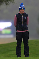 Anne Van Dam of Team Europe in the rough on the 18th during Day 2 Fourball at the Solheim Cup 2019, Gleneagles Golf CLub, Auchterarder, Perthshire, Scotland. 14/09/2019.<br /> Picture Thos Caffrey / Golffile.ie<br /> <br /> All photo usage must carry mandatory copyright credit (© Golffile | Thos Caffrey)