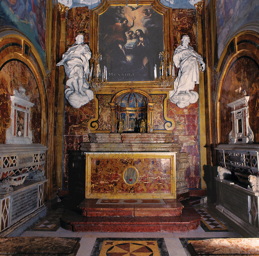 Palermo, S. Maria degli Angeli church, la Gancia, 15th century.<br /> Palermo, chiesa di Santa Maria degli angeli, la Gancia; XV sec.