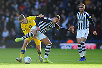 George Byers of Swansea City battles with Jake Livermore of West Bromwich Albion during the Sky Bet Championship match between West Bromwich Albion and Swansea City at The Hawthorns in Birmingham, England, UK. Sunday 08 December 2019