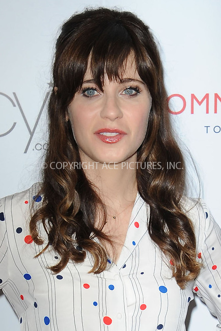 WWW.ACEPIXS.COM<br /> April 14, 2014 New York City<br /> <br /> Zooey Deschanel attends the To Tommy, From Zooey Collection Launch Macy's Herald Square on April 14, 2014 in New York City.<br /> <br /> Please byline: Kristin Callahan<br /> <br /> ACEPIXS.COM<br /> <br /> Tel: (212) 243 8787 or (646) 769 0430<br /> e-mail: info@acepixs.com<br /> web: http://www.acepixs.com