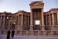 SIRIA - sito di Palmira(Tadmor) -teatro