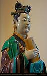 Judge's Assistant of Good Deeds, Polychrome Stoneware, Ming Dynasty China 1522-1620, British Museum, London, England, UK