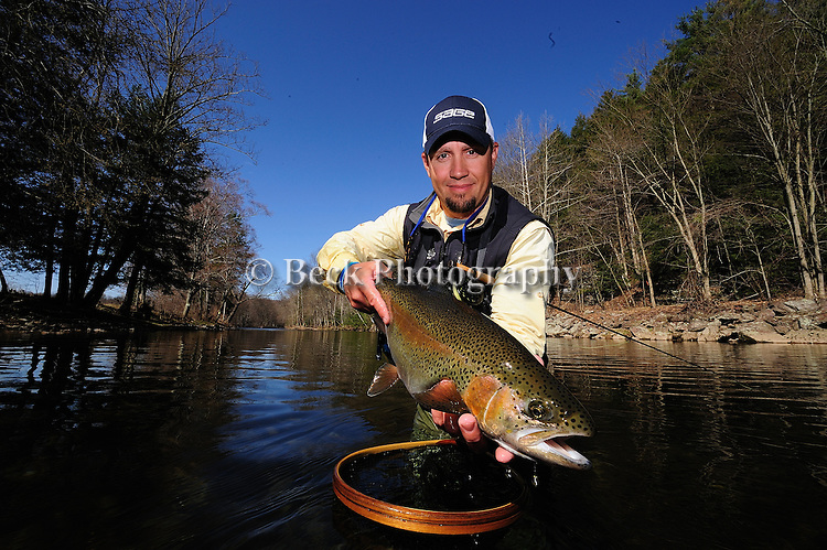 Toby Thompson with an April Rainbow