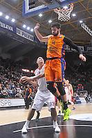 Dubljevic vs Zirbes<br /> Euroleague - 2014/15<br /> Regular season Round 8<br /> Valencia Basket vs Crvena Zvezda Telecom Belgrade