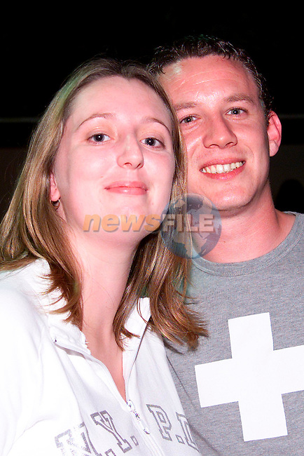 Derek Curran and Tara Everitt from Yellowbatter enjoying a night out in McPhails..Picture: Paul Mohan/Newsfile