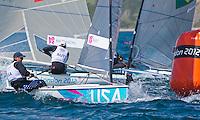 ..2012 Olympic Games .London / WeymouthFinn. USA.Railey Zach