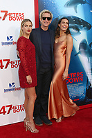"LOS ANGELES - JUN 12:  Claire Holt, Matthew Modine, Mandy Moore at the ""47 Meters Down"" Premiere at the Village Theater on June 12, 2017 in Westwood, CA"