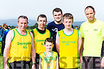 Gveeveguilla runners at the Kerry Cross Country championships in Firies on Sunday l-r: john Guerin, Donal Reen, Andrew purcell, Oisin O'Leary, Anthony Buckley and Robert Purcell