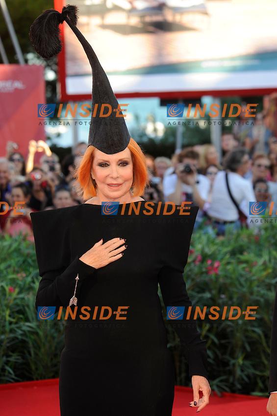Marina LANTE della ROVERE in RIPA di MEANA.Venezia / Venice 1/9/2010 67ma Mostra del Cinema.Red Carpet Serata Inaugurale.Foto Stefano Micozzi/Insidefoto