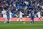 Getafe´s Alvaro Vazquez during La Liga match at Santiago Bernabeu stadium in Madrid, Spain. December 05, 2015. (ALTERPHOTOS/Victor Blanco)