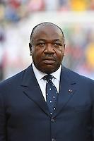 Gabon's President Ali Bongo Ondimba<br /> Libreville ( Gabon ) 14-01-2017 Coppa Africa 2017 <br /> Gabon - Guinea Bissau <br /> Foto Panoramic / Insidefoto