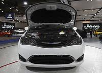 75 ieme Salon de l'auto de Montreal,  janvier 2018, au palais des congres<br /> <br /> PHOTO :  agence quebec presse
