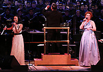 Nikki Rene Daniels and Carolee Carmello during the Broadway Classics in Concert at Carnegie Hall on February 20, 2018 at Carnegie Hall in New York City.