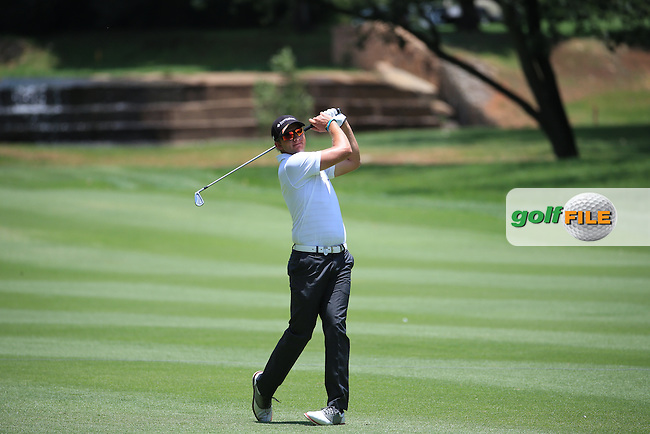 Dean Burmester (RSA) in action during Round Three of the 2016 BMW SA Open hosted by City of Ekurhuleni, played at the Glendower Golf Club, Gauteng, Johannesburg, South Africa.  09/01/2016. Picture: Golffile | David Lloyd<br /> <br /> All photos usage must carry mandatory copyright credit (&copy; Golffile | David Lloyd)