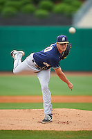 San Antonio Missions pitcher Ryan Butler (30) delivers a warmup pitch during a game against the NW Arkansas Naturals on May 31, 2015 at Arvest Ballpark in Springdale, Arkansas.  NW Arkansas defeated San Antonio 3-1.  (Mike Janes/Four Seam Images)