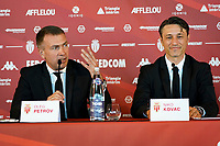 21st July 2020, Monaco, France; AS Monaco announce the employment of Niko Kovac as their new player coach at their press conference with Oleg Petrov president of AS Monaco