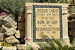 Israel, the Garden Tomb in East Jerusalem