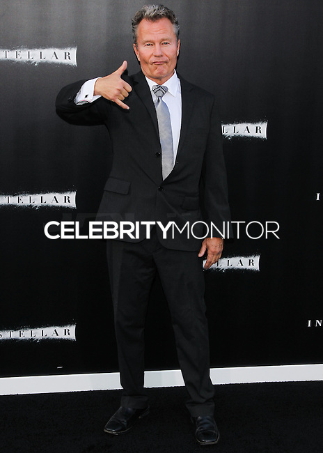 HOLLYWOOD, LOS ANGELES, CA, USA - OCTOBER 26: John Savage arrives at the Los Angeles Premiere Of Paramount Pictures' 'Interstellar' held at the TCL Chinese Theatre on October 26, 2014 in Hollywood, Los Angeles, California, United States. (Photo by Celebrity Monitor)