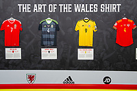 2019 11 11 The Art of the Wales Shirt Exhibition at St Fagans National Museum, Cardiff, Wales, UK