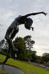 Statue at the 5 star Culloden Spa and Resort in Belfast.