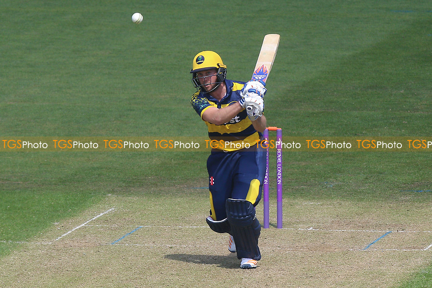 Chris Cooke in batting action for Glamorgan during Glamorgan vs Essex Eagles, Royal London One-Day Cup Cricket at the SSE SWALEC Stadium on 7th May 2017