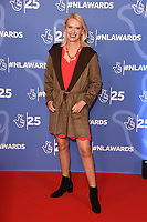 LONDON, UK. October 15, 2019: Anneka Rice at the National Lottery Awards 2019, London.<br /> Picture: Steve Vas/Featureflash
