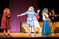 "Maria Galiana, Pedro Mari Sanchez, Lolita and Pastora Vega during theater play ""La Asamblea de las Mujeres"" at Teatro La Latina in Madrid. August 23 2016. (ALTERPHOTOS/Borja B.Hojas) /NORTEPHOTO.COM"