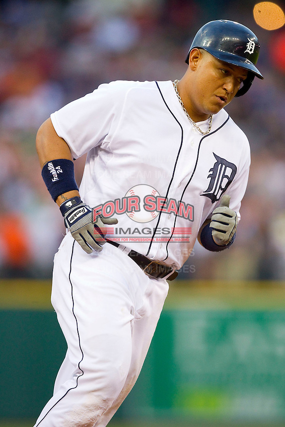 at Comerica Park on June 25, 2013 in Detroit, Michigan.  The Angels defeated the Tigers 14-8.  (Brian Westerholt/Four Seam Images)