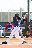 Wande Olabisi, San Diego Padres minor league spring training..Photo by:  Bill Mitchell/Four Seam Images.