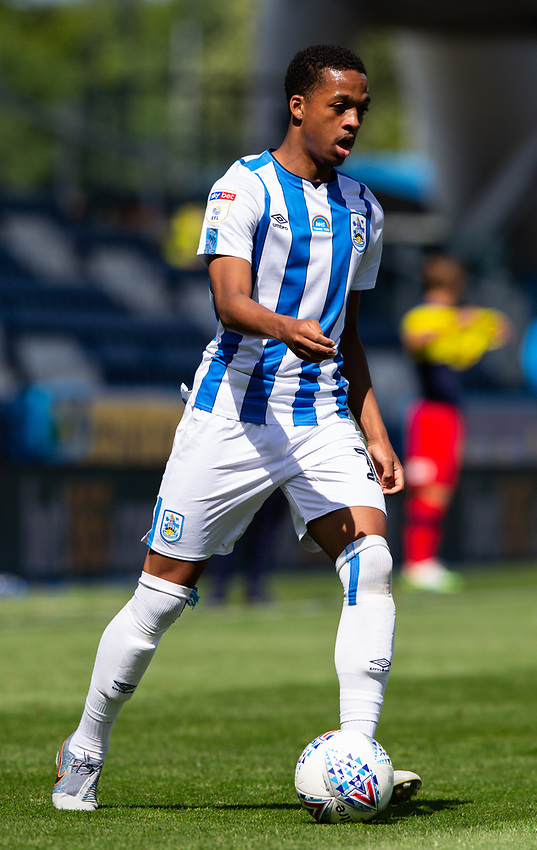 Huddersfield Town's Chris Willock in action<br /> <br /> Photographer Alex Dodd/CameraSport<br /> <br /> The EFL Sky Bet Championship - Huddersfield Town v Wigan Athletic - Saturday 20th June 2020 - John Smith's Stadium - Huddersfield <br /> <br /> World Copyright © 2020 CameraSport. All rights reserved. 43 Linden Ave. Countesthorpe. Leicester. England. LE8 5PG - Tel: +44 (0) 116 277 4147 - admin@camerasport.com - www.camerasport.com