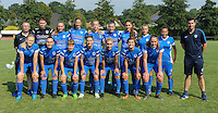 20160827 - ZWEVEZELE , BELGIUM : Genk's team pictured during the soccer match  in the 2nd round of the  Belgian cup 2017 , a soccer women game between SK Voorwaarts Zwevezele and RC Genk Ladies  , in Zwevezele , saturday 27 th August 2016 . PHOTO SPORTPIX.BE / DIRK VUYLSTEKE